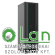 26U szerver rack szekrény   600X600 fekete