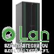 46U szerver rack szekrény   800X1000 fekete