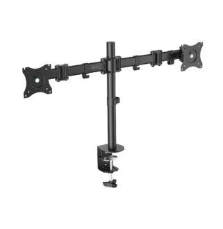 """Univerzális asztali monitor tartó kar dupla 15-27"""" max.2x8kg"""