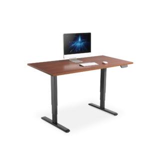 Állítható magasságú asztalkeret fekete elektromos