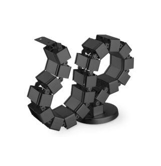 Kábelrendező állítható hosszúság fekete