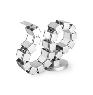 Kábelrendező állítható hosszúság ezüst