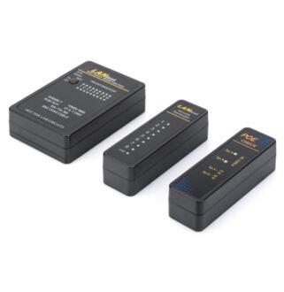 Cable tester RJ45, RJ12, RJ11, BNC DN-14001-1