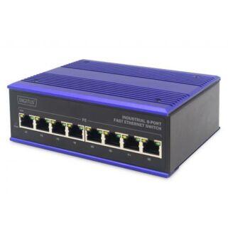 Industrial 8-port Ethernet Switch Digitus / DN-650106