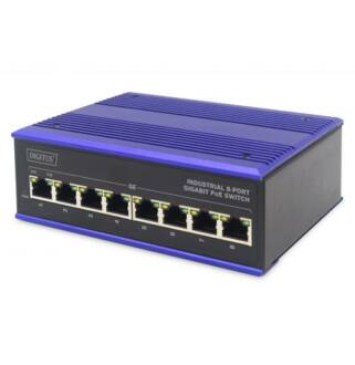 Industrial 8-port Gigabit PoE Switch Digitus / DN-651121