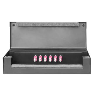 Konszolidációs doboz fém 12xRJ45 Keystone / 6xLC DX