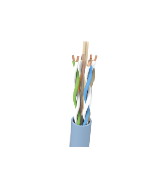 UTP Cat.6 A falkábel kék  500m LSOH BKT
