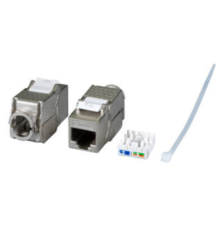 Keystone modul FTP Cat6a (180 fokos) toolless