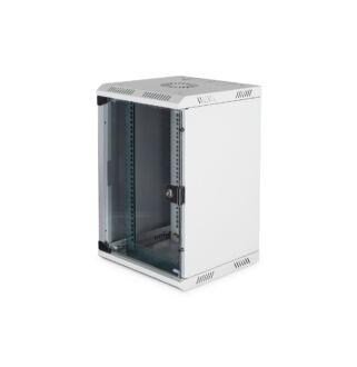 Mini Rack Szekrény 10U horizontal 5U Ver DN-1019