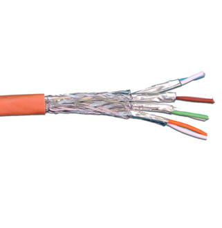 LANmark-7 S/FTP Cat7 600MHz 23 AWG LSZH orange 1000m reel