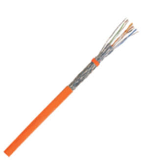 LANmark-7A S/FTP AWG23 Cat 7A falkábel, LSZH, Orange, 1000m