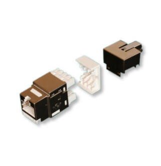 LANmark-5 Evo Snap-in Connector, Unscreened for solid wire