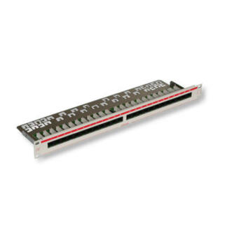 Patch panel 24 port UTP Cat5e LANmark-5 felülszerelt