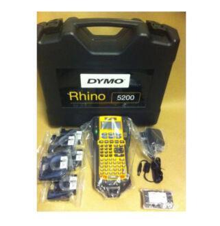 Feliratozógép Rhino pro 5200 készlet + 5 db kazetta