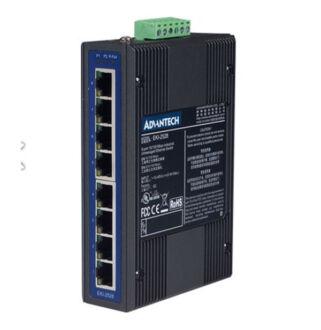 8*10/100Tx ipari switch