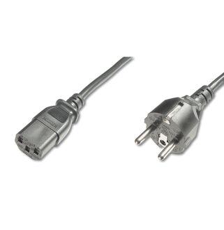 220V tápkábel C13/villadugó Digitus / AK-440101-018-S