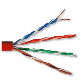UTP Cat.5e patch kábel piros