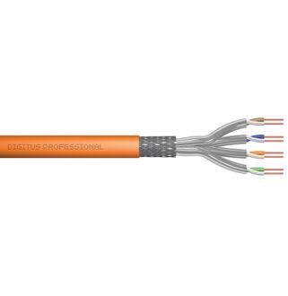 Cat7 falkábel LSOH/1 1200Mhz Digitus 4*2*AWG23/1   500m/drum