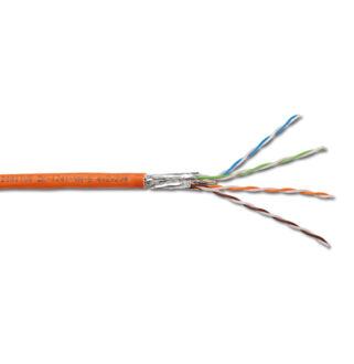 Cat7 falkábel LSOH 1200Mhz Digitus 4*2*AWG23/1   1000m/drum