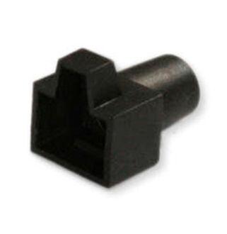 8P8C törésgátló fekete