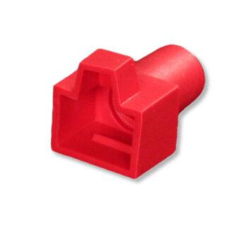 8P8C törésgátló piros