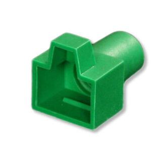8P8C törésgátló zöld