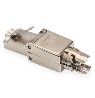 8P8C Cat6a toolless mod. dugó C7 kábelre DN-93634