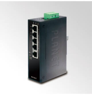 Planet IGS-501T IP30 5-Port Industrial Gigabit Ethernet Switch