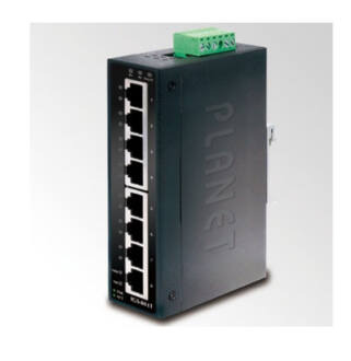 Planet IGS-801T IP30 8-port Industrial Gigabit Ethernet Switch