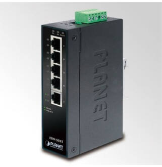 Planet ISW-501T IP30 5-Port Industrial Fast Ethernet Switch
