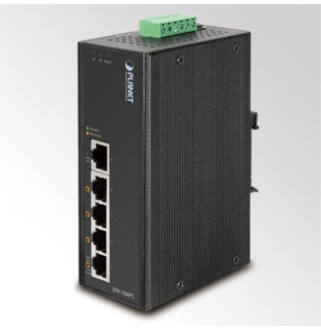 Planet ISW-504PT IP30 5-Port/TP POE Industrial Fast Ethernet Switch