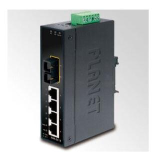 Planet ISW-511T IP30 Slim Type 4-Port Industrial Switch + 1-Port 100Base-FX SC