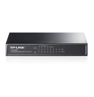 TP-LINK 8 port 10/100/1000 asztali switch , nem menedzselt 4POE