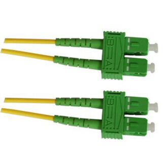 Optikai patch SC/A-SC/A 9/125 duplex  1m (SC/APC-SC/APC)