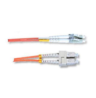 Optikai patch SC-LC 50/125 duplex  1m