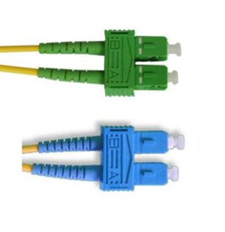Optikai patch SC-SC/A  9/125 duplex  5m (SC/PC-SC/APC)