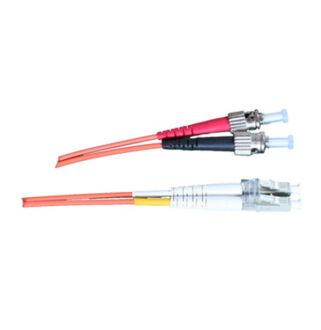 Optikai patch ST-LC 50/125 duplex  1m