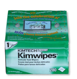 Opt. törlőkendő Kim Wipes (280db)