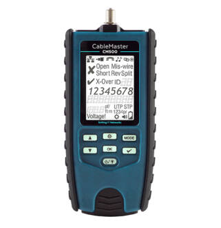 CableMaster 500 Cable tester and fault locator