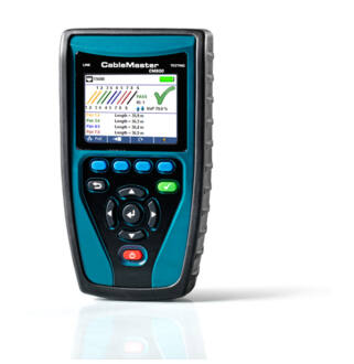 CableMaster 800 Tester and Network Diagnostic Tool