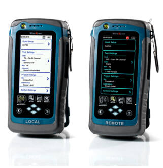 WX500 cable certifier