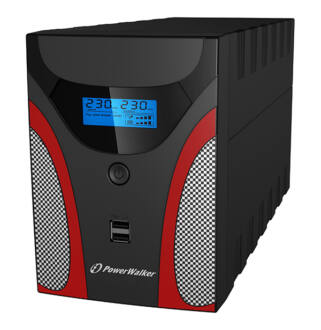 1600 VA line interactive Gaming UPS LCD Power Walker/10121045