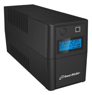650 VA line interactive UPS LCD Power Walker