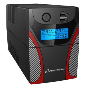 850VA IECline interactive Gaming UPS LCD Power Walker