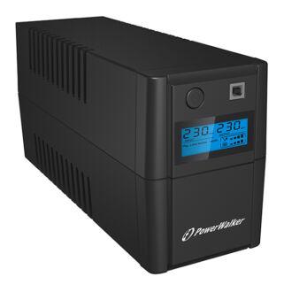850 VA line interactive UPS LCD Power Walker/10120096