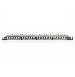 Patch panel 24 port FTP Cat6a DIGITUS 0,5 unit