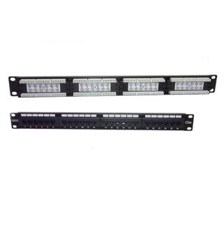 Patch panel 24 port UTP Cat5e