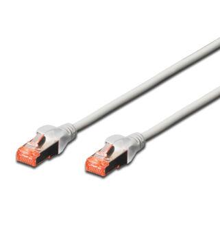S/FTP Cat6 patch kábel 0,5 m, HF köpeny DK-1644-005
