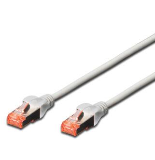 S/FTP Cat6 patch kábel 1 m, HF köpeny DK-1644-010
