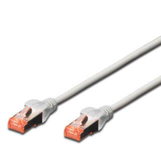 S/FTP Cat6 patch kábel 2 m, HF köpeny
